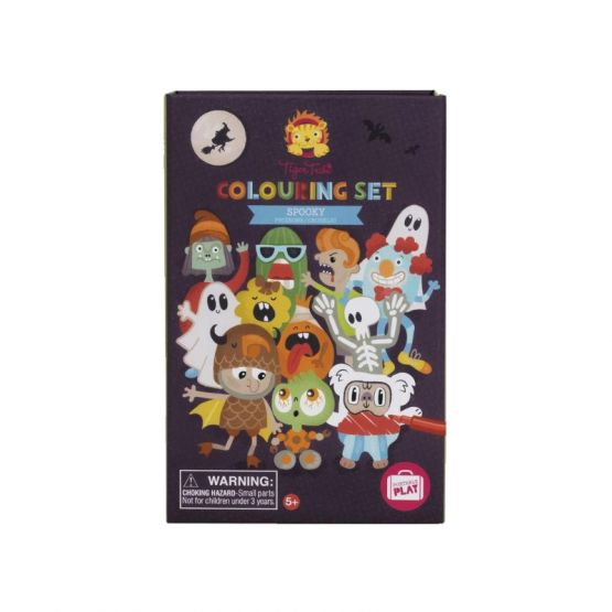 *New* Colouring Set - Spooky by Tiger Tribe