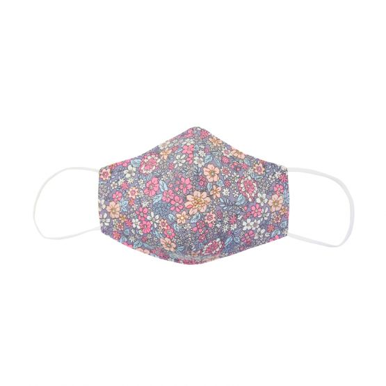 Personalisable Reusable Kids & Adult Mask in Lilac Spring Bloom Print