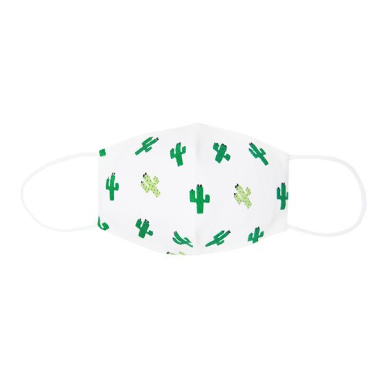 Personalisable Reusable Kids & Adult Mask in Cactus Print