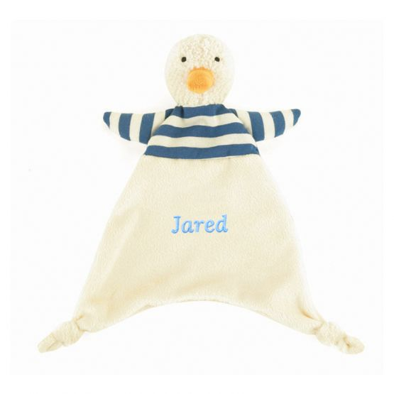 Personalisable Bredita Duck Soother by Jellycat