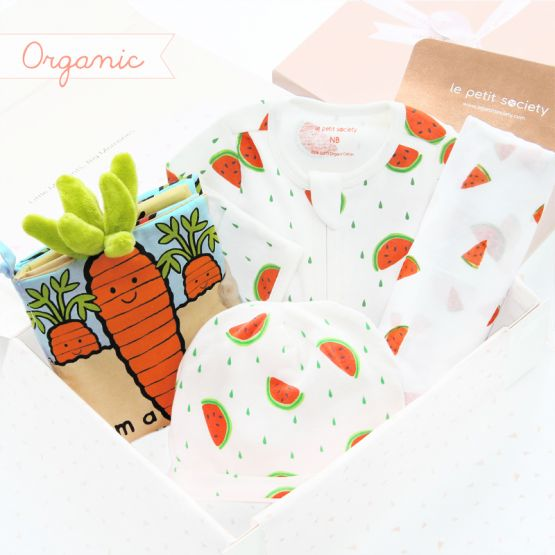 *Bestseller* Baby Organic Gift Set - Tropical Tales