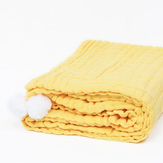 *Bestseller* Personalisable Keepsake Kids/Adult Single Blanket in Mustard