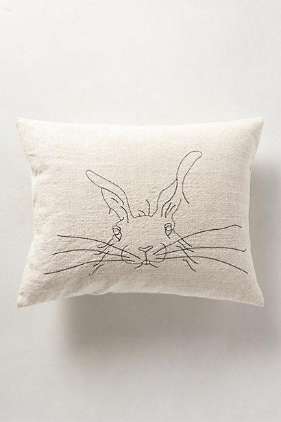 DIY :: Hand Sketched Pillows
