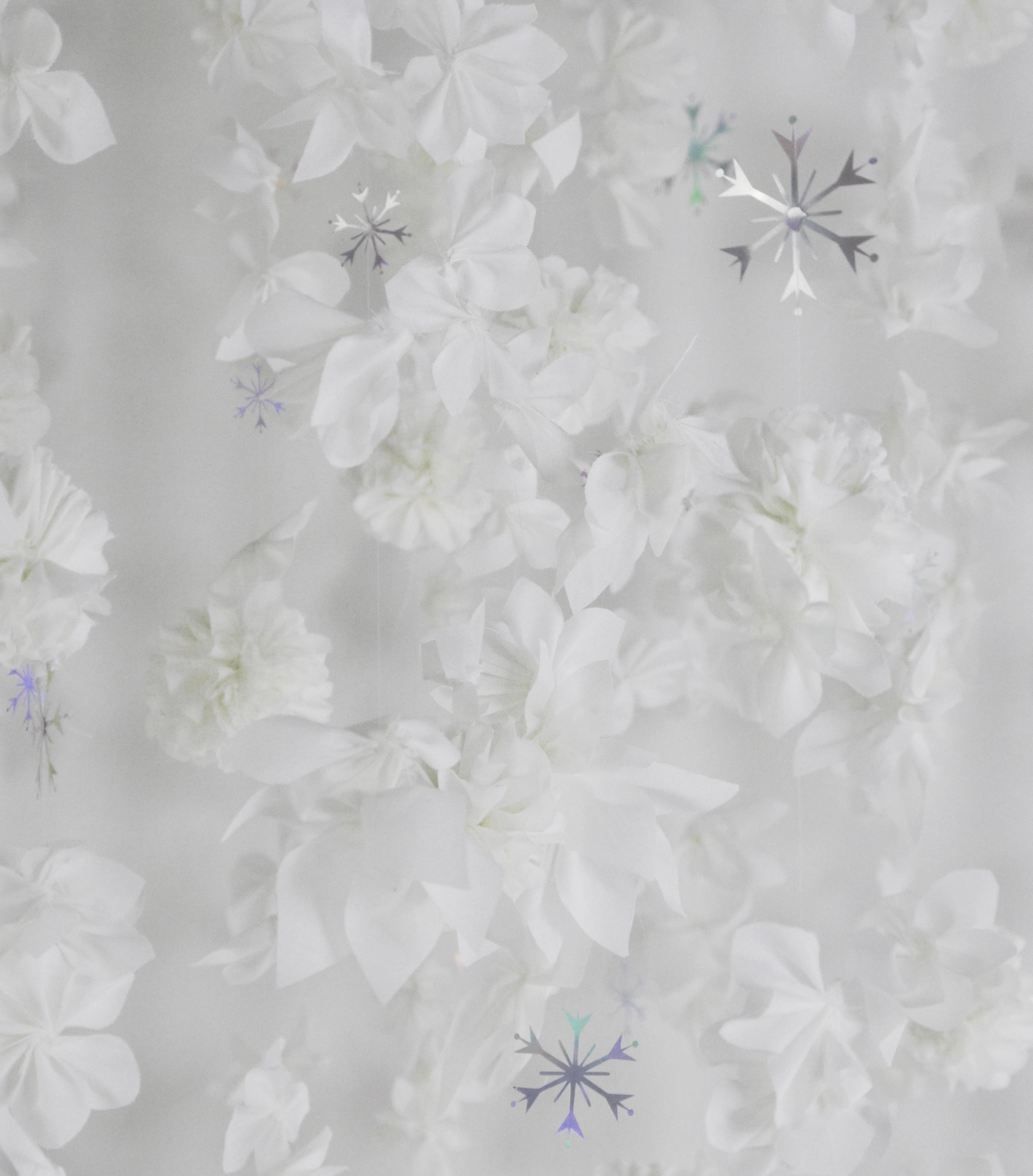 DIY - Floral Backdrop for Disney's Frozen 2 launch