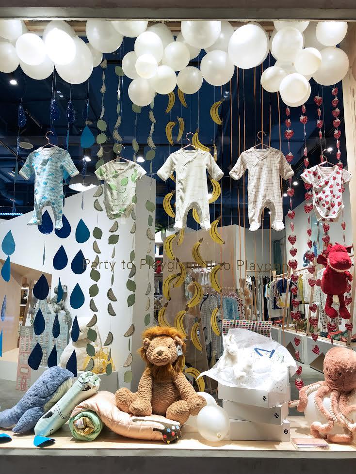 Le Petit Society Christmas Window Display