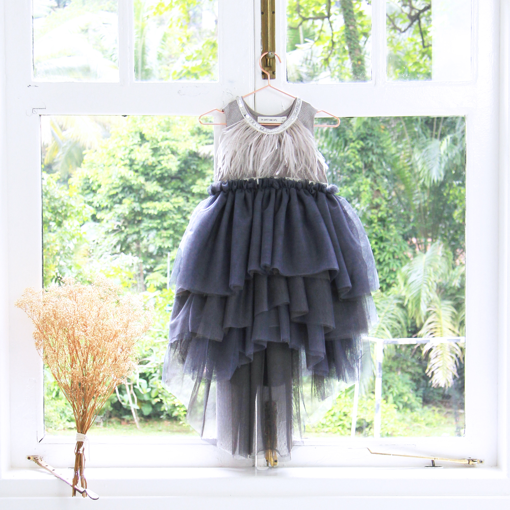 Introducing the Flower Girl Series & featuring Cascading Dresses