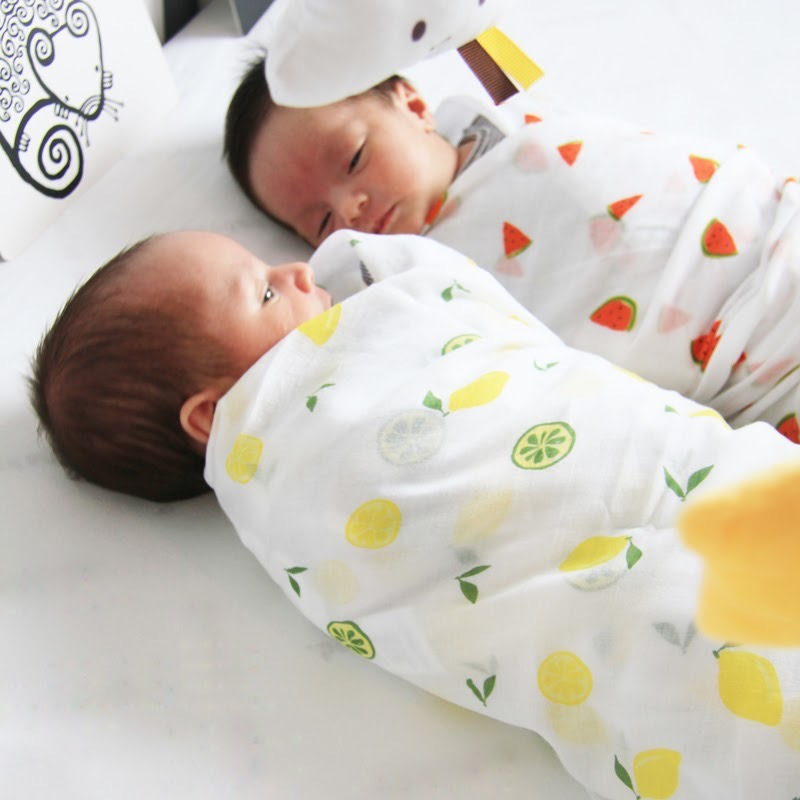 Le Petit Society GOTS-certified Organic Swaddles