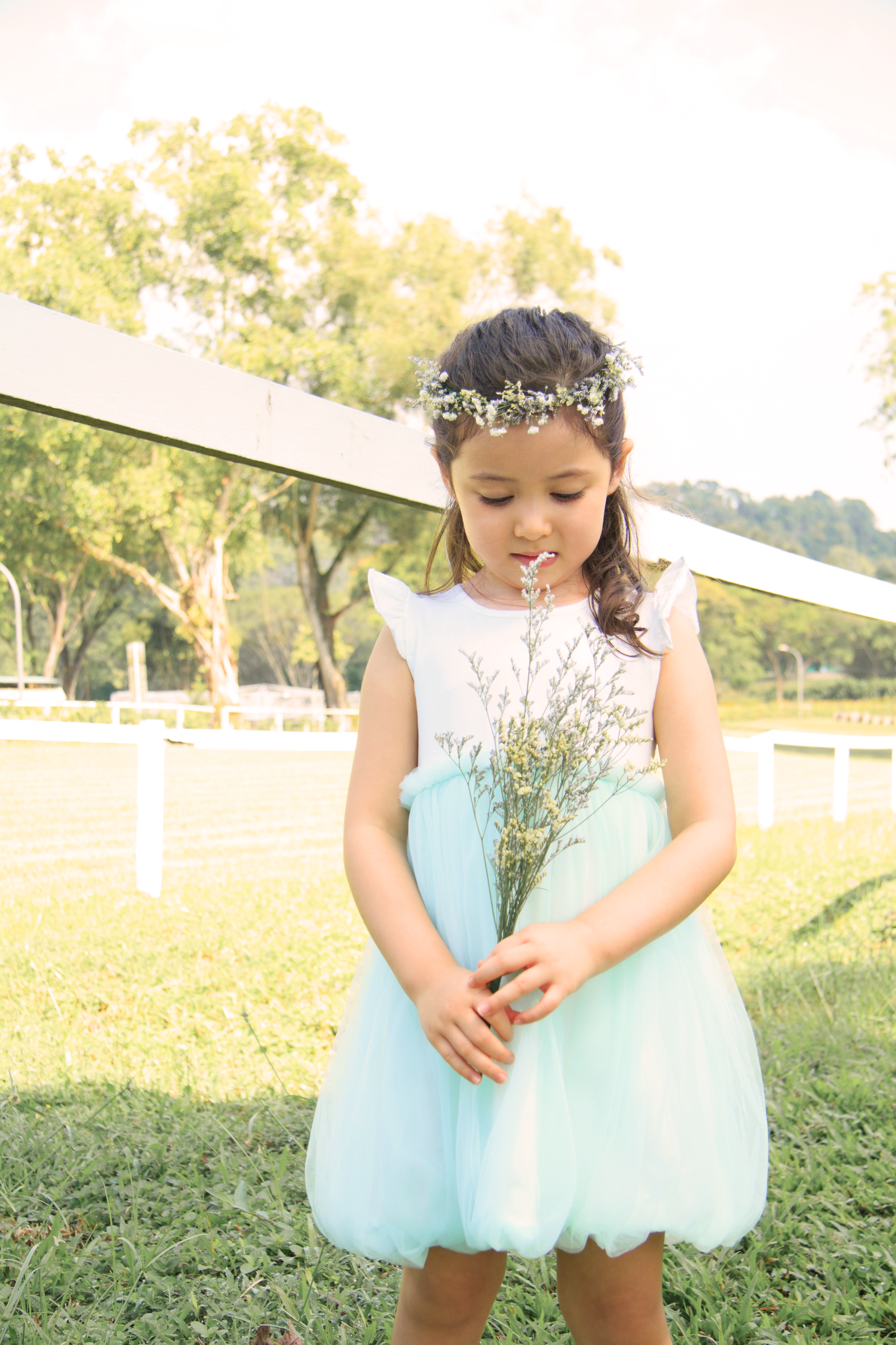 Perfect Flower Girl Bubble Tulle Dress