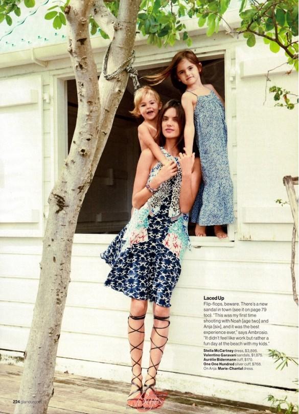 Model mums :: Alessandra Ambrosio