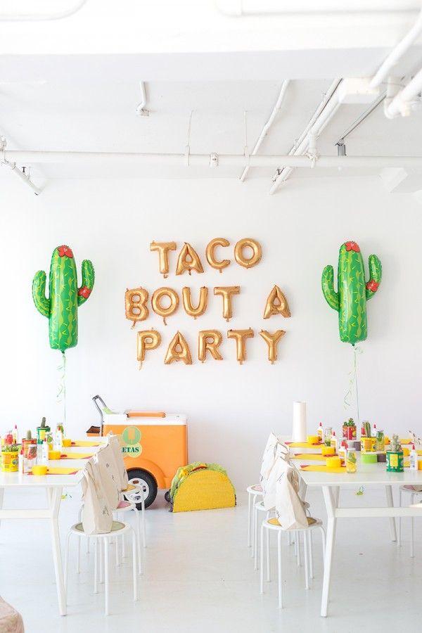 Party Inspiration :: Studio DIY Taco Party