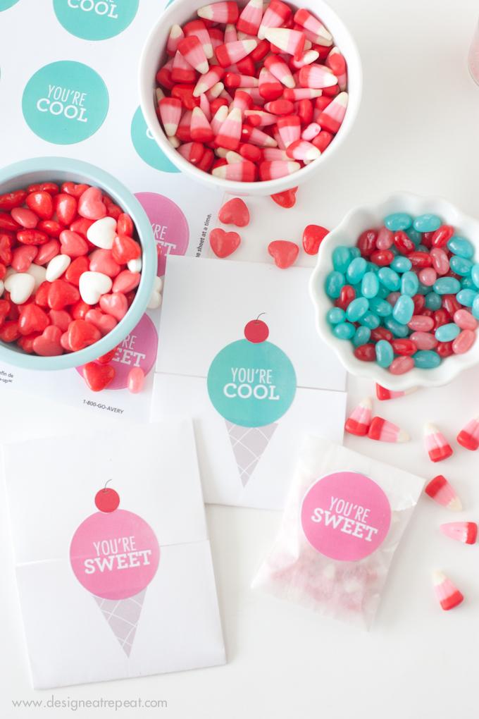 DIY :: Printable Valentines Day Craft