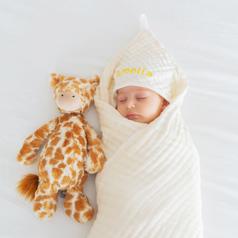Restocked Personalisable Blankets and Bath Capes - Le Petit Society