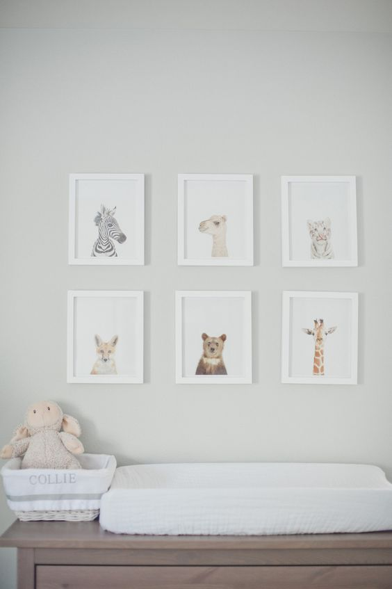 Nursery Inspiration - Baby Animals