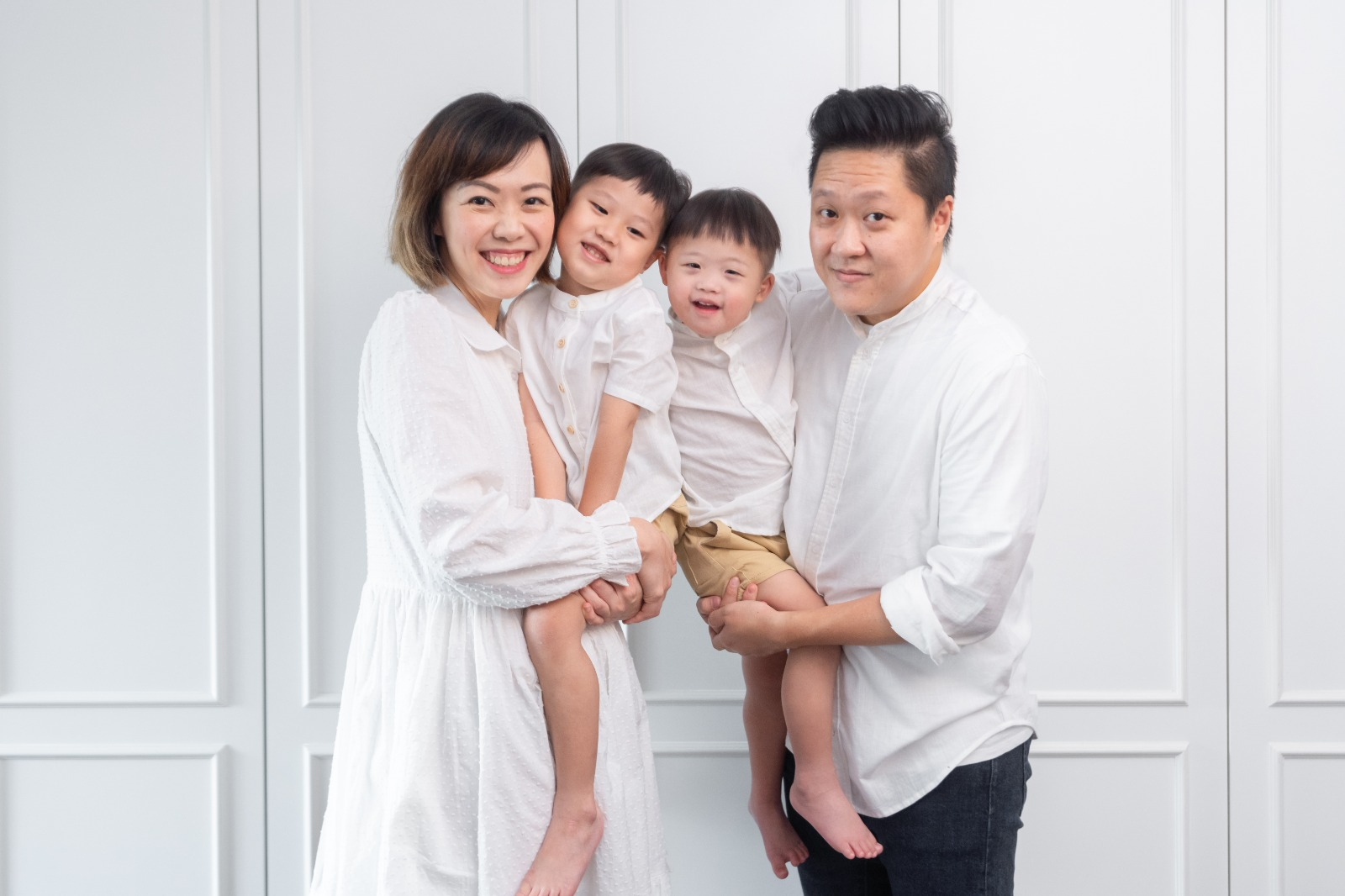 Father's Day Feature : Dawn & Jaz for Le Petit Society
