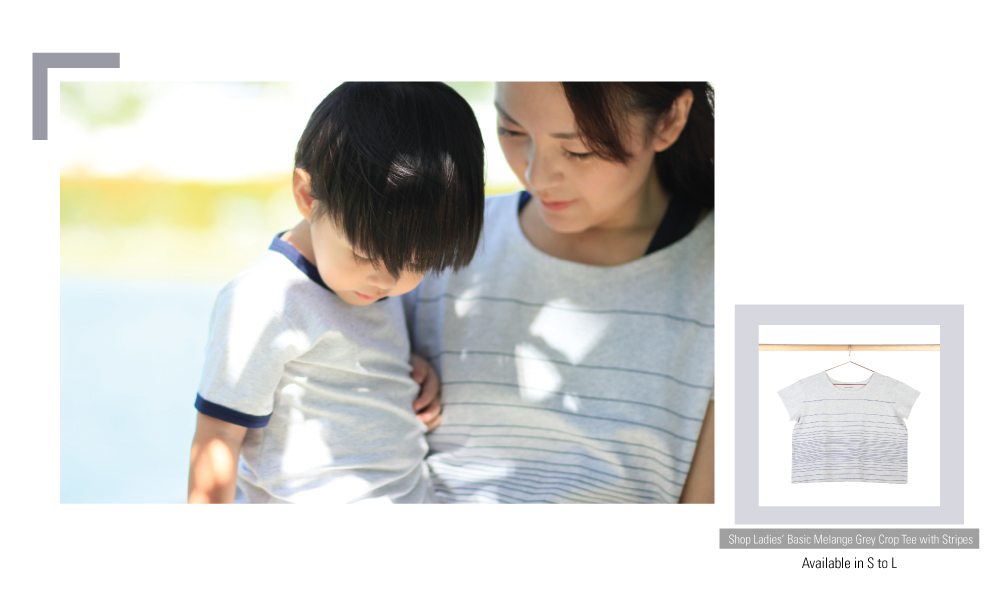 Le Petit Society Basics Collection Mummy Son Outfits